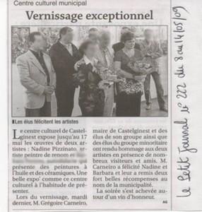 articlepetitjournalflouMai2009